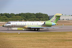 1326 Bombardier Global 6000 United Arab Emirates Air Force unpainted Cambridge 04th July 2018 (michael_hibbins) Tags: 1326 bombardier global 6000 united arab emirates air force unpainted cambridge 04th july 2018 military aeroplane aircraft aviation aerospace airplane aero airport airports predelivery uae modified primer jet jets twin engined ttail cbg egsc
