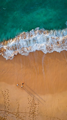 Sunrise Shadows (Corey Rothwell) Tags: drone aerial sunrise waves shadows shadow beach travel hawaii paradise