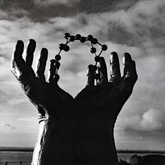 hands and molecule (sowhat63) Tags: david barnes kent