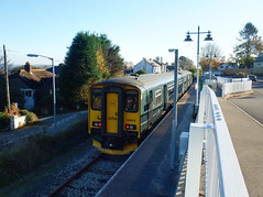 150202 Gunnislake (4) (Marky7890) Tags: gwr 150202 class150 sprinter 2p87 gunnislake railway cornwall tamarvalleyline train
