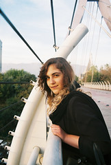 Zara (Aspa Tz) Tags: iran analogue travel minolta expired colour tehran street autumn city human girl portrait