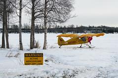 Lake Hood Seaplane base (George Baritakis) Tags: seaplane lake lakehood alaska usa polar ice snow avia airplane airport winter travel transportation