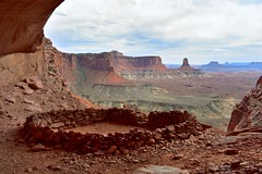 Canyonlands National Park, Utah. 5.21.18. (Nothing Signified) Tags: falsekiva canyonlandsnationalpark canyonlands nationalpark islandinthesky utah ut kiva archaeology ruin ruins abandoned nativeamerican tribes classiiarchaeologicalsite canyonlandsnationalparkislandintheskydistrict mesa alcove red rock redrock landscape abandonedplaces quiet desert america americana americannationalpark danwatsonphotography nothingsignified canyon democraticforest westernlandscape canyonlandscape canyonwalls abandonment archaeologicalsite ceremonialsite americansouthwest americannationalparks falsekivacanyonlandsnationalpark canyonland canyonlandnationalpark utahdesert utahlandscape landscapeofutah hiking buttes canyons utahcanyons americacanyons americansouthwestphotos landscapephotos landscapephotography nativeamericanruins yourbestshot2018 greatwesternroadtripof2018 gwrt18 hikingphotos exploring needle buttel needlebutte greenriver