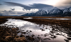 Storm over Jobs Peak (Aaron_Smith_Wolfe_Photography) Tags: carsonvalley gardnerville sierra nevada wilderness farm rural pond jobspeak nikon d850