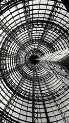 Melbourne Central (JAMADELILA) Tags: architektur architecture lines blackandwhite melbourne bw australia city symmetry forms