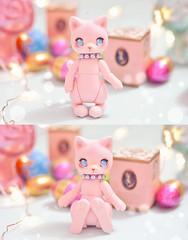 ☆ Berry ☆ (Shimiro Doll Photography) Tags: bjd doll cute kawaii tiny pastel pink photography nikon portrait abjd bjdphotography custombjd customdoll dollphotography dolls balljointeddoll toyphotography toys toy cocoriang cocoriangmocka cat kitty