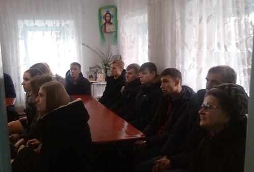 В день святой великомученицы Екатерины студенты-казаки посетили храм Воскресения Словущего г. Приморско-Ахтарска