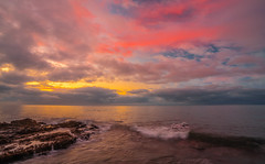 Malibu Leo Carillo State Beach Sunset Red & Orange Clouds Fine Art California Landscape Seascape Photography! Sony A7R III & Sony FE 16-35mm f/2.8 GM G Master Lens! High Res 4k 8K Photography! Elliot McGucken Fine Art Pacific Ocean Sunset Sony A7RIII A7R3 (45SURF Hero's Odyssey Mythology Landscapes & Godde) Tags: malibu leo carillo state beach sunset red orange clouds fine art california landscape seascape photography sony a7r iii fe 1635mm f28 gm g master lens high res 4k 8k elliot mcgucken pacific ocean a7riii a7r3