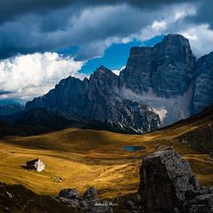 Le petit lac (daicaphoto) Tags: extérieur dolomites forêt nature sentier italie pierre randonnée panorama arbres montagne trecime