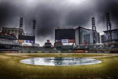 A Rainy Night In Georgia (Steve Mitchell Gallery) Tags: stadiums ballparks suntrustpark atlantabraves mlb majorleaguebaseball rain rainy