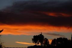Sunset 12 23 18 #01 (Az Skies Photography) Tags: sunset sun set dusk twilight nightfall sky skyline skyscape cloud clouds red orange yellow gold golden salmon black december 23 2018 december232018 122318 12232018 rio rico arizona az rioricoaz arizonasky riorico arizonaskyline arizonaskyscape canon eos 80d canoneos80d canon80d eos80d