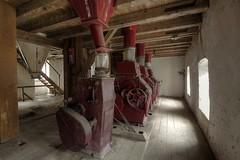 """Mühle """"Biene Maja"""" (notanaddict321) Tags: mühle mill moulin verlassen leerstehend lost leer lostplace abandoned abadonedplaces abandonné urban urbex getreide"""