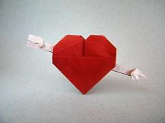 Valentine Opus 237 - Robert Lang (Rui.Roda) Tags: origami papiroflexia papierfalten corazon coração são valentim valentine opus 237 robert lang