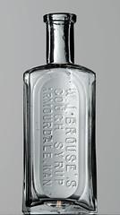 W.J. BROUSE, ARMOURDALE, KS (Ks Ed) Tags: antique antiquebottle glass vintage excavated dug old drugstore drug medicine ks kansas bottle find pharmacy apothecary bottles brouse armourdale