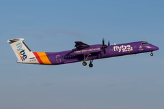 G-ECOH DHC-8Q-402 Flybe Prestwick 19.12.18 (Robert Banks 1) Tags: gecoh bombardier dh8d dhc8 dash 8 q402 flybe bee prestwick egpk pik scotland