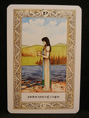 Princess of Cups. (Oxford77) Tags: tarot thenorsetarot norse viking vikings cards card tarotcards