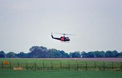 Bundeswehr Berlin SXF 2002 SAR Hubschrauber  Bell UH-1D (rieblinga) Tags: berlin sxf 2002 flughafen schönefeld bundeswehr sar hubschrauber bell uh1 tiefflug