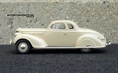 1938 Chrysler Imperial Eight C-19 Coupe (JCarnutz) Tags: 143scale diecast brooklin whitemetal 1938 chrysler imperial