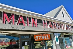 Main Hardware, East Hartford, CT (Robby Virus) Tags: easthartford connecticut ct main hardware sign signage store business neon