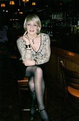 Cougar-ish, Perhaps? (Laurette Victoria) Tags: bar milwaukee woman laurette cougar blonde