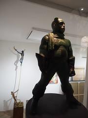 PA070279 (kriD1973) Tags: europe europa italia italien italie italy campania kampanien campanie costiera amalfitana amalfi coast côte amalfitaine amalfiküste salerno salerne positano statua scultura arte art kunst sculpture skulptur captain america giuseppe tirelli