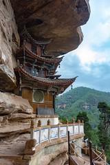 Shibao Mtn. Grotto (Rod Waddington) Tags: china culture cultural shibao mountain mountains jianchuan grotto buddhist temple bai rock nature laojun