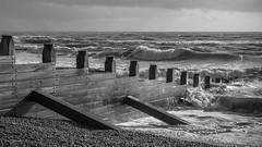 Breaker (ivanstevensphotography) Tags: seabeachpebblepebblesbreakerswoodfixturesmetal
