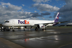 N978FD FedEx Express 757-236 in KCLE (GeorgeM757) Tags: n978fd 757236 fedexexpress 757f kcle clevelandhopkins georgem757 aircraft aviation airplane airport boeing canon ramp ecehy