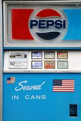 Beer and soda vending machine (Virginia Bailey Photography) Tags: vendingmachine beer soda pepsi budlight whidbeyisland wa washington america usa canon80d antique