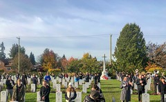 20181111_0198 (Bruce McPherson) Tags: brucemcphersonphotography centumcorpora remembranceday armistice brassband 100piecebrassband livemusic bandmusic brassmusic remembrance armisticeday veteransday mountainviewcemetery jones45 areajones45 commonwealthcemetery remembering honouring wargraves outdoorperformance outdoormusic vancouver bc canada thelittlechamberseriesthatcould homegoingbrassband