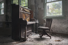 ...maestro... (Art in Entropy) Tags: abandoned photography urbex urban exploration explore creepy piano poorhouse decay sony adventure