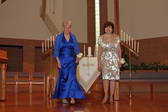 """Mrs. Morton and Mrs. Miller Lighting the Family Candles • <a style=""""font-size:0.8em;"""" href=""""http://www.flickr.com/photos/109120354@N07/31164958977/"""" target=""""_blank"""">View on Flickr</a>"""