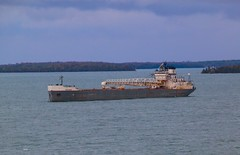 Calumet anchored in Lower St. Marys (knutsonrick) Tags: