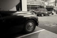 Nice, France ~ 2019 (Christopher Mark Perez) Tags: nice france bw blackandwhite oldcar oldvehicles vintage vintageautomobile vintagecar