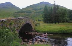 bridge (Duncan the road rebel) Tags: bridge landscape landscapesofscotland scottishlandscape scotlandslandscape scotland scottish tree hill mountains mountain river stream outside outdoor