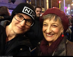 20180104_i1 Me & Patricia Conolly by the stagedoor of Broadhurst Theatre, where she starred in ''Front page'' | New York City (ratexla) Tags: ratexlasnewyorktrip2016 thefrontpage patriciaconolly 4jan2017 2017 iphone iphone5 newyorkcity nyc newyork usa theus unitedstates theunitedstates america northamerica nordamerika earth tellus photophotospicturepicturesimageimagesfotofotonbildbilder wanderlust winter travel travelling traveling journey vacation holiday semester resaresor urban city town storstad storstäder storstadssemester ontheroad manhattan actress actresses star stars celeb celebs celebrity celebrities famous homosapiens people person human humans life organism woman women me leme ratexla selfie girl girls chick chicks notsurewhothisis
