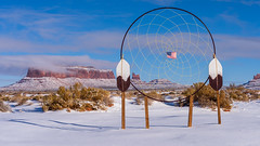 Navajo Dream Catcher (Star Wizard) Tags: monumentvalley arizona unitedstates us