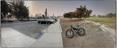 Smokey Morning (Godfrey DiGiorgi) Tags: guadaluperiverpark bicycle color neighborhood ride urban sanjose california unitedstates us