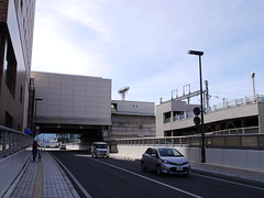 On the bridge (crossing the rail) (しまむー) Tags: panasonic lumix dmcgx1 gx1 sigma art 19mm f28 dn round trip train