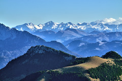 View from Wildalpjoch Summit - Bavaria (W_von_S) Tags: wildalpjoch alps alpen bavaria bayern sudelfeld wendelstein brünnstein tirol tyrol berge mountains landschaft landscape paysage paesaggio panorama natur nature summit gipfel sunny sonnig föhn wvons werner sony sonyilce7rm2 view aussicht hike bergwanderung outdoor nordrheinwestfalen 2018 herbst autumn