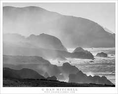 Headlands And Mist (G Dan Mitchell) Tags: bigsur pacific coast route highway mountains hills headlands mist spray fog light morning ocean seascape landscape nature early autumn fall season surf waves clouds california usa north america