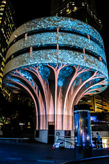 Tree House (Peter Polder) Tags: australia alley architecture adstract art building buildings cityscape cityscapes city exterior evening night sydney street skyline urban