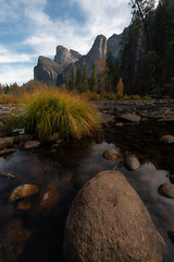 View From The River (jojo (imagesofdream)) Tags: yosemite nationalparks landscape california mercedriver yosemitenationalpark yosemiteconsercancy usinterior nikonusa nikonshooter