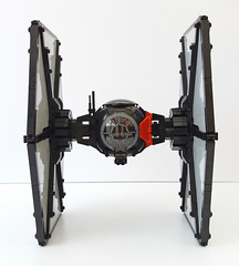 Front (Rubblemaker) Tags: star wars starwars lego building blocks first order tie fighter