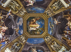 One of gorgeous paintings on ceiling when steering through the maze of the Vatican Museum (abhishek.verma55) Tags: vatican vaticancity ceiling ©abhishekverma art painting vaticanmuseum travel travelphotography fineart italy italia rome roma indoor roof inside decoration decor intricate fresco masterpiece monument religion shrine history flickr photography colourful beautiful colour religious abstract dome artistic colorful colors fujifilmxt20 famousplaces europe eurotrip explore exploration old travelphotos vivid wanderlust italian rich