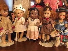 Small Fry (Emily1957) Tags: vintage dolls doll toys toy vintageginny vintagemexicandoll hardplastic iphone light naturallight 8inchdolls