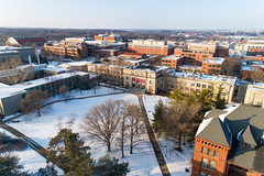2019 - January - CHS - Snowy Winter Break Sunday-127-HDR.jpg (ISU College of Human Sciences) Tags: building winter forker campus buildings foodsciencebuilding morrill snow lagomarcino ringoflife drone campanile scenic palmer fshn chs mackay beauty