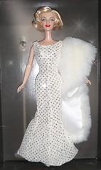 2001 Marilyn Monroe Doll (2) (Paul BarbieTemptation) Tags: 2001 timeless treasures collector edition marilyn monroe barbie doll happy birthday mr president