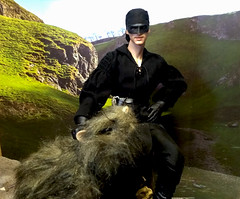 """Dread Pirate Roberts (and ROUS) -""""The Princess Bride"""" (Cremdon) Tags: rous rodentofunusualsize princessbride westley dreadpirateroberts 16scale actionfigures qmx"""