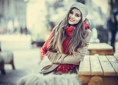 Irina (Vagelis Pikoulas) Tags: irina portrait woman women girl girls bokeh romania bucharest sigma december winter 2017 85mm
